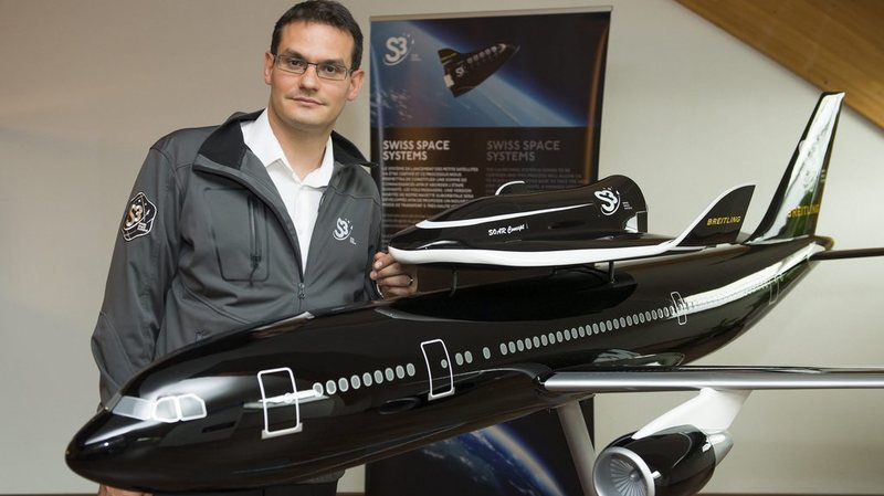 Pascal Jaussi, CEO de Swiss Space Systems, S3.