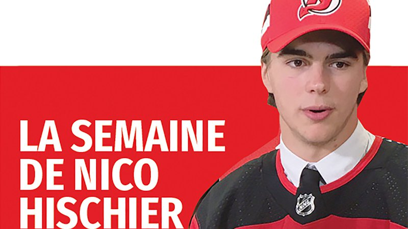 Nico Hischier, 19 ans, attaquant valaisan des New Jersey Devils.