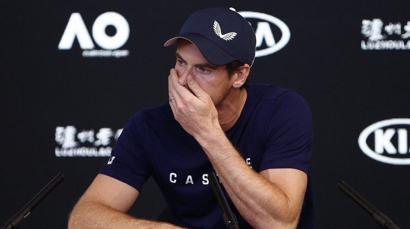 Andy Murray, no 1 mondial 2016,  évolue aujourd'hui à la 230e place.
