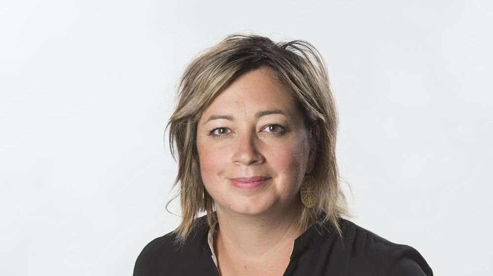 Stéphanie Germanier, journaliste.