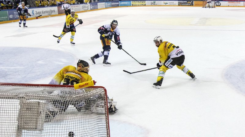 Hockey: Berne remporte l'acte 2 de la finale de National League face à Zoug.