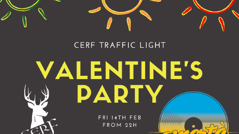 St Valentine's Traffic Light Party