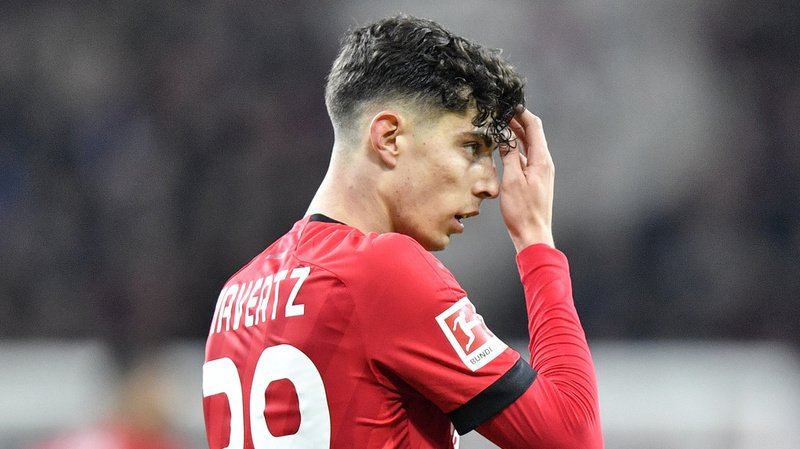 Kai Havertz a inscrit le premier but de son équipe. (Archives)